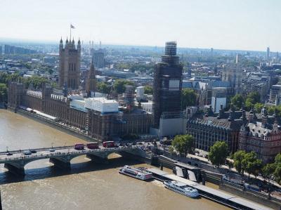 ラブリーがいっぱい!ロンドン4泊6日の旅【3日目前編:庶民派スーパー「セインズベリーズ」&ホテルの朝食&BIG BUSに乗って観光&ロンドン・アイで空中散歩】
