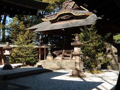 氷川神社~川越駅まで小江戸川越を歩きました②氷川神社境内の絵馬トンネル、本殿の彫刻、御神木めぐり