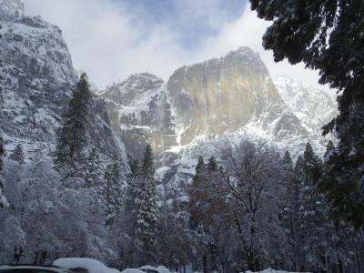 ANAの40000マイルで2月のサンフランシスコへ 3日目: 雪のヨセミテ日帰りツアー 4日目:帰国