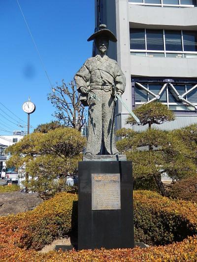 氷川神社~川越駅まで小江戸川越を歩きました③太田道灌公像
