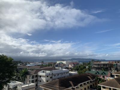 雨季 雨季 雨季なボラカイ島でも少し晴れた?!