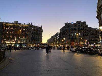 ☆バルセロナ☆2月☆バル巡り/カタルーニャ広場周辺