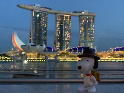 子連れ(4歳)前泊+4泊6日シンガポールの旅 その1