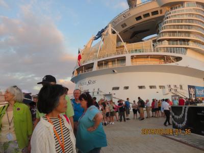⑩  2回目の世界最大豪華客船「オアシス・オブ・ザシーズ、23万トン」でカリブ海(メキシコ・ジヤマイカ・ハイチ)クルーズ