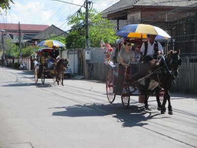 タイ・ミャンマーの旅(5)             ランパーン市街を廻る。