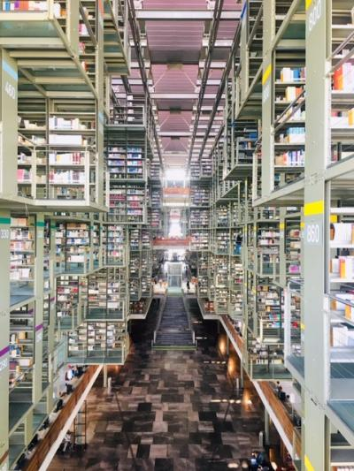 ■メキシコシティ発■ メキシコシティの未来図書館と6枚で10ペソのタコスの味 By ウォータースポーツカンクン店長吉田
