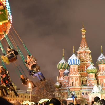 【3】寝すごして新年を迎えてしまう☆ロシア:モスクワ7日間