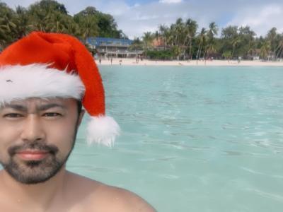 クリスマス・イブはボラカイ島で過ごしました。