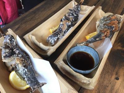 七沢で川魚料理 2019.2.11