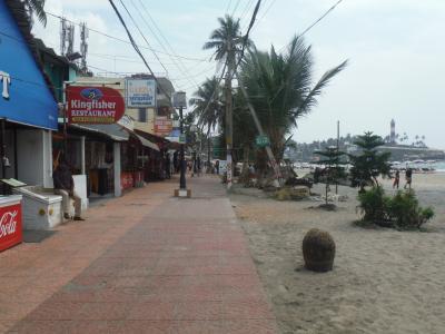 2019年1~2月バンコク経由で南インドに行こう!(6)インド最南端を目指すトリバントラムからコバラムチョアラビーチへ