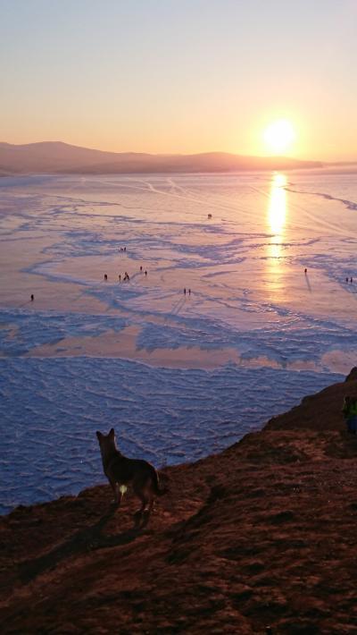 2,厳冬のバイカル湖、モスクワ ボリショイバレエ サンクトペテルブルク マリンスキーバレエ ミハイロフスキーバレエ