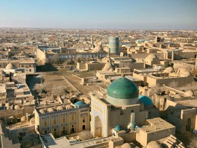 冬のウズベキスタン旅◆ヒヴァ