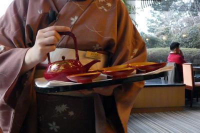 20.年越しのエクシブ山中湖3泊 元旦の紅富士 日本料理 花木鳥の朝食 ラウンジドルチェの喫茶