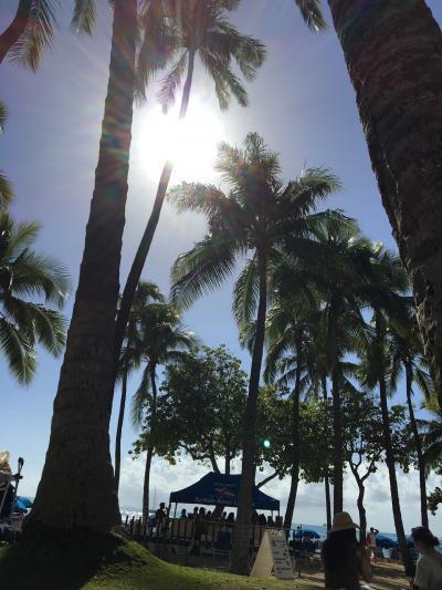 ハワイ 3泊5日一人旅①