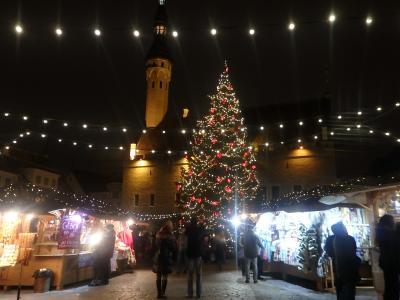 Day 5-3 冬のバルト三国旅行記(タリンのクリスマスマーケット)