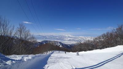 家族で野沢温泉スキー(ペンション シュネー泊)