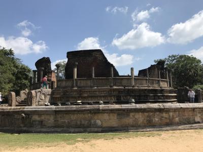 【現地速報】モルディブ・スリランカ遠征 その6 初上陸スリランカ 3つ目の街 Polonnaruwa!