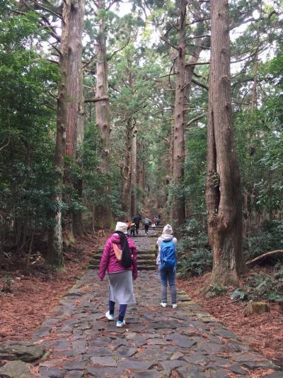 小学生三年と熊野古道