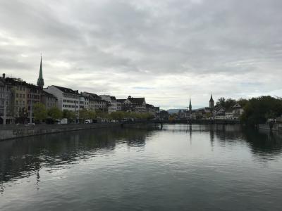 スイス旅行記 最終日 チューリッヒ街歩き&スイスのお土産