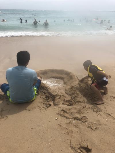 タロさん(6歳)の「ハワイっていいよね♪」2