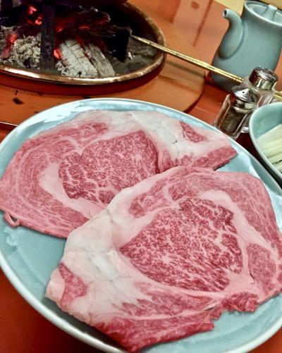 松阪の名店:『和田金』で「松阪牛」をすき焼きで食す!...うっ....美味すぎる~、これ....(松阪/三重県)