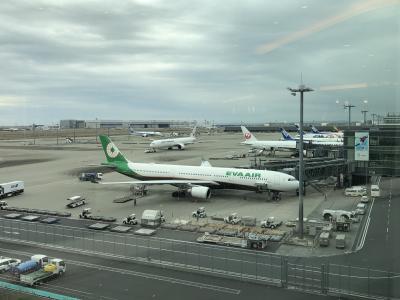 ANA プレミアムエコノミー HND/MUC、ANAラウンジとミュンヘン空港セネターラウンジ。