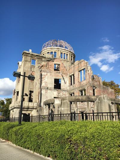 紅葉の広島と姫路城