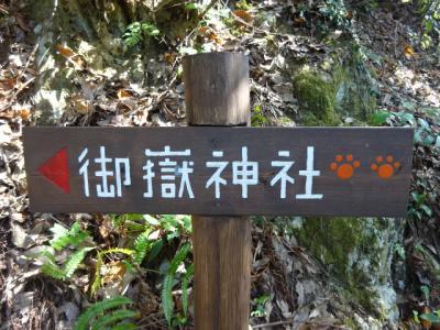 愛知県春日井三山縦走、東海自然歩道を歩き定光寺へ、猫神社にびっくり