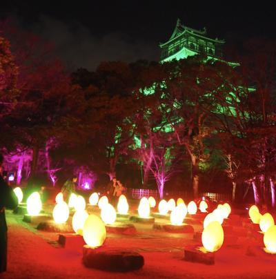 広島城 光の祭