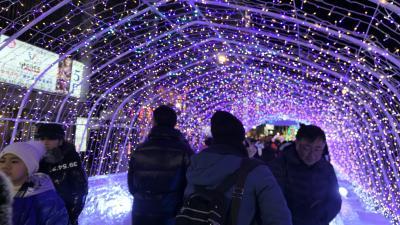 北海道旅行2日目後半 第70回さっぽろ雪まつり