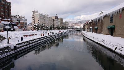 北海道旅行4日目1/4 小樽雪あかりの路