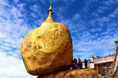 2っの黄金聖地をめぐるゴールデンミャンマー5日間(ゴールデンロック観光)