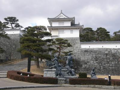 岳温泉・欅平ホテルで過ごす休日4日間・・・3日目は、二本松・霞ヶ城公園・大隣寺をトレッキングで・・・二本松少年隊群像を追って