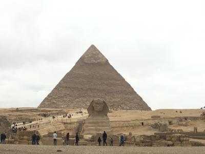 念願のピラミッド巡り①