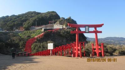 山陽山陰の観光名勝めぐり:「元乃隅稲荷神社」「角島大橋」「瑠璃光寺」