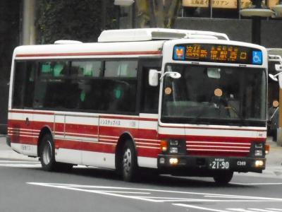 2019年 2月下旬 都内の僅少路線バスに乗車⑨