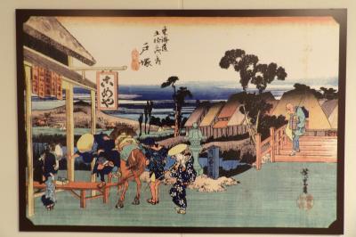 戸塚駅西口地下通路の浮世絵