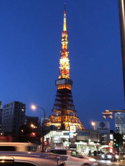 東京タワーはやっぱりいいなぁ。