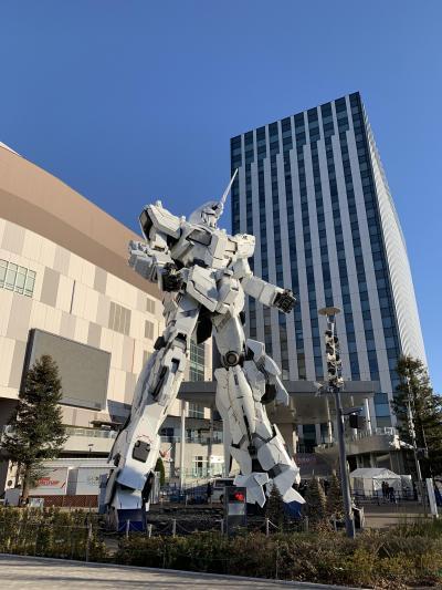 東京二泊三日の旅 お台場ヒルトン宿泊①初日から2日目