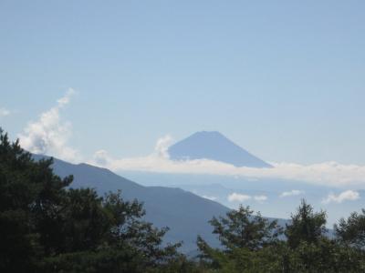 ずっと富士山が見えました