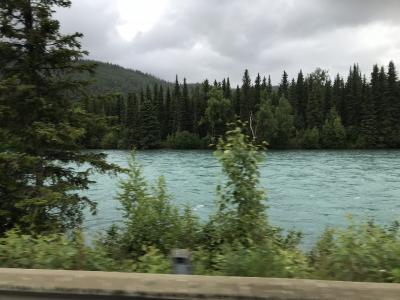 初アラスカ観光びっくりがたくさん