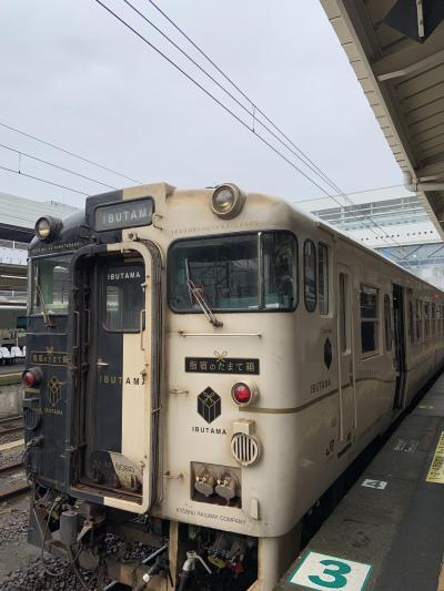 冬の九州縦断鉄道旅+α(指宿のたまて箱、鹿児島編)