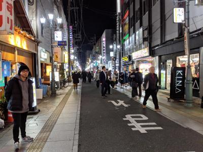 ここが宮崎市の繁華街