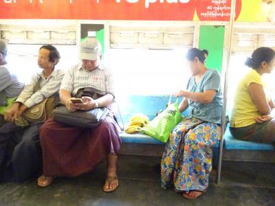 3世代でヤンゴン2018【2】専用車でヤンゴン市内観光
