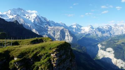 スイス ベルナーオーバーランド&レマン湖畔の旅③