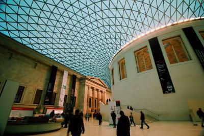 久しぶりの大英博物館
