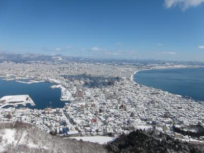 大寒波襲来の北海道・さっぽろ雪祭り、小樽、函館3泊4日旅行記③函館へ。
