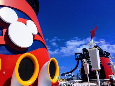 【初めてのDCL②】ついに乗船!ディズニー・マジック号!