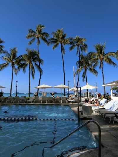 モアナ・サーフライダーに泊まる冬ハワイ2019☆2日目☆2月ハワイは泳げるのか泳げないのか