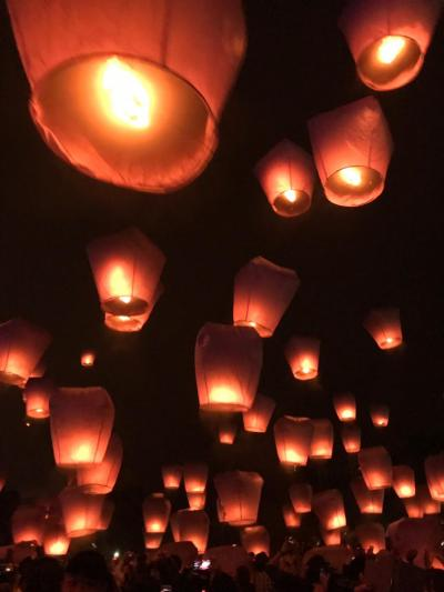 九份から平渓天燈祭(2019.2.19.)へ